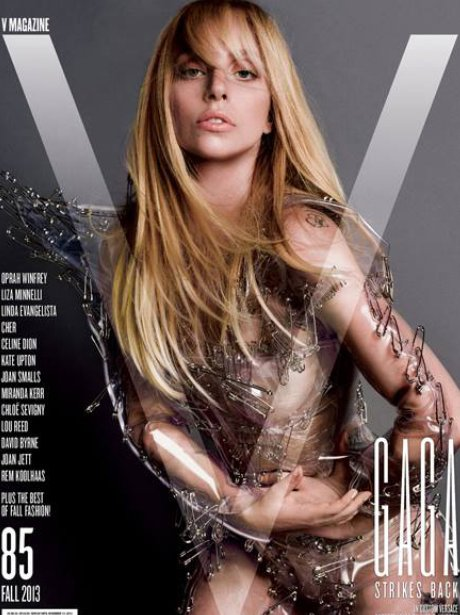Lady Gaga on the cover of V Magazine