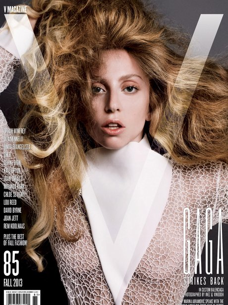 Lady Gaga V Magazine 2013 Balenciaga