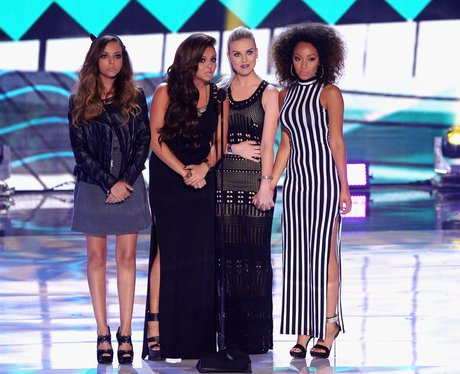Little Mix on stage at the Teen Choice Awards 2013