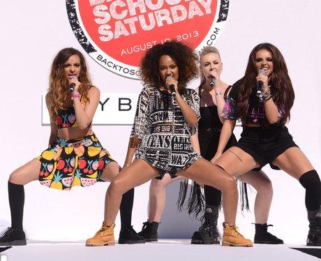 Little Mix perform live at a Teen Vogue event