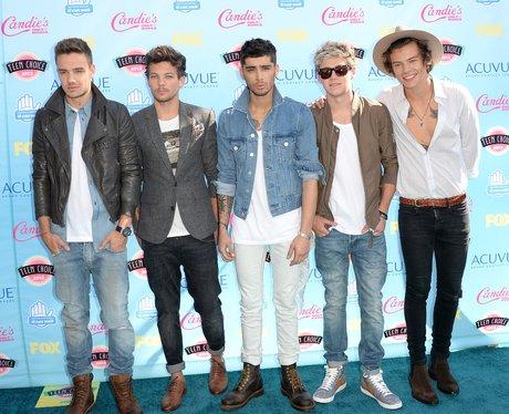 One Direction Teen Choice Awards 2013