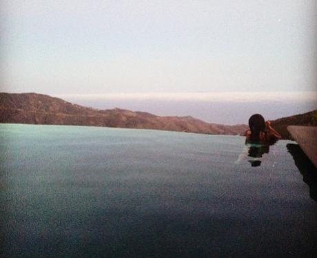 Cheryl Cole on holiday