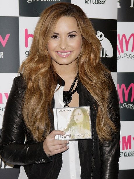 Demi Lovato launches her album