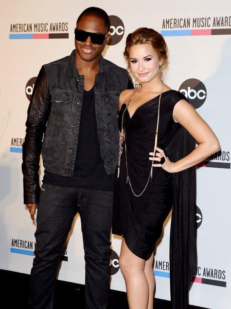 Demi Lovato and Taio Cruz