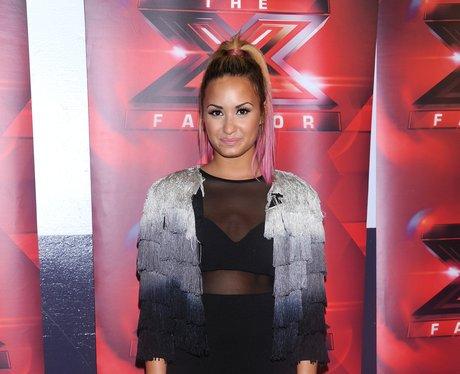 Demi Lovato X Factor 2012