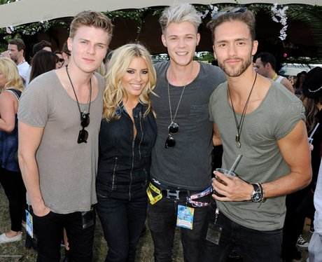 Mollie King and Lawson V Festival