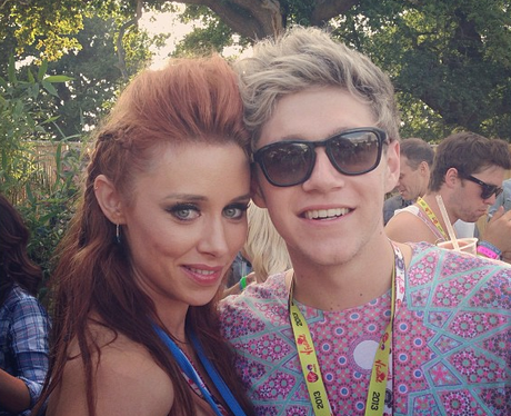 Niall Horan and Una Instagram