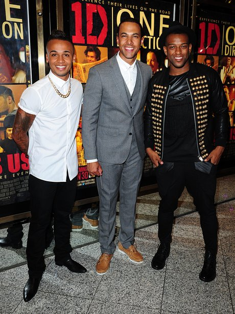 JLS attend One Direction film premiere