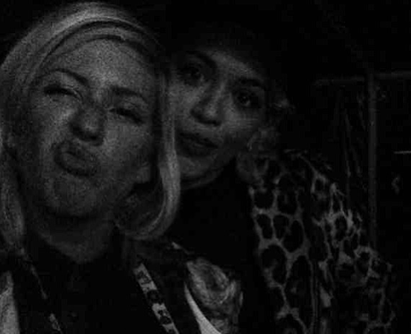 Rita Ora and Ellie Goulding