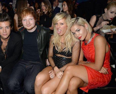 Harry Styles, Ed Sheeran, Ellie Goulding