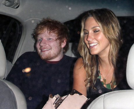 Ed Sheeran pictured with a mystery blond
