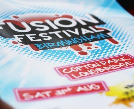 Fusion Festival Backstage