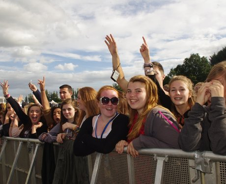 Shots of the Fusion Festival fans by the Street St
