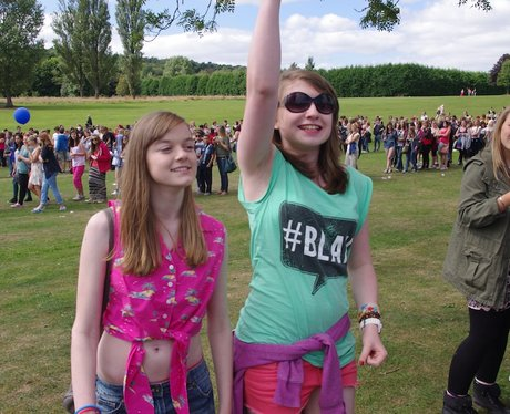 Fusion Festival fans Morning