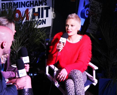Jessie J Backstage
