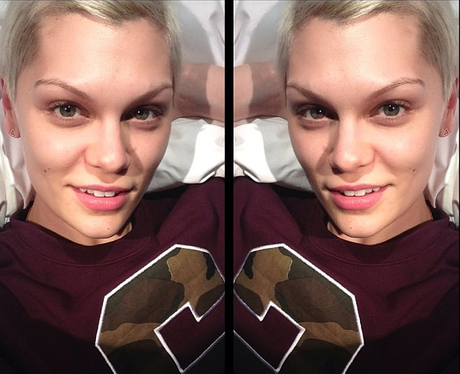 Jessie J with no make up