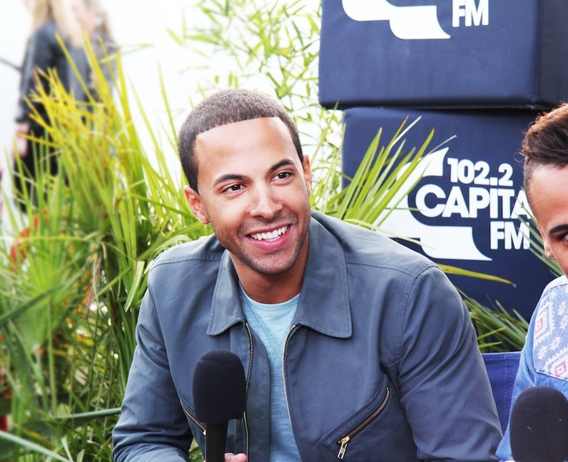 Capital FM presenter Marvin Humes joins his JLS boys to perform at the show