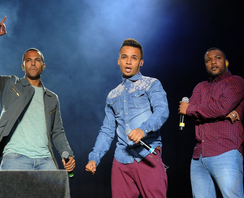 JLS perform some of their biggest Vodafone Big Top 40 hits live at Fusion Festival 2013