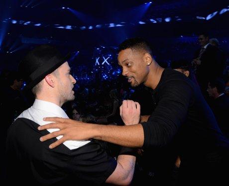 Justin Timberlake And Will Smith MTV VMAs 2013