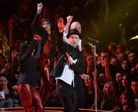 Justin Timberlake MTV VMAs 2013