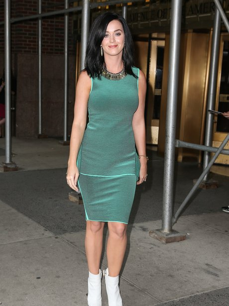 Katy Perry promoting album in New York