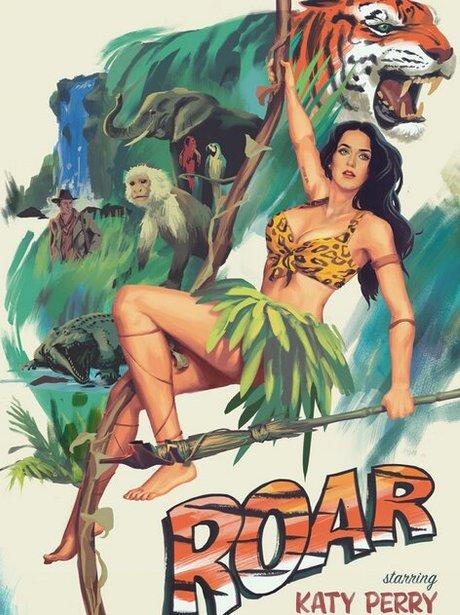 Katy Perry 'Roar' Movie Poster