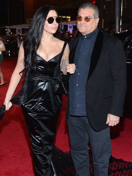 Lady Gaga And Dad MTV VMAs 2013