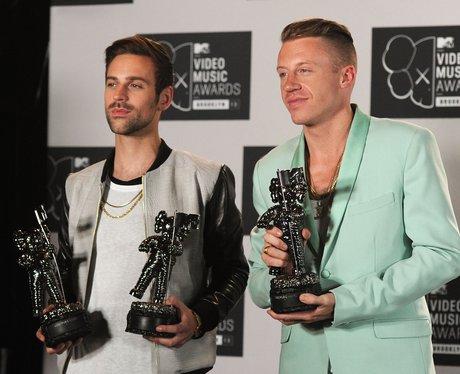 Macklemore & Ryan Lewis MTV VMAs 2013