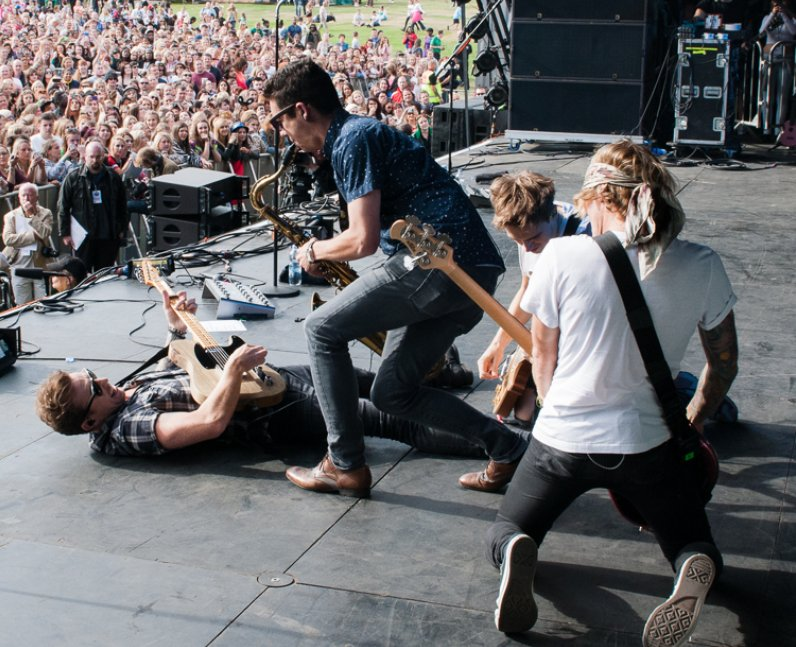 McFly live at Fusion Festival 2013