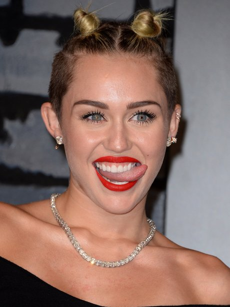 Miley Cyrus Funny Faces