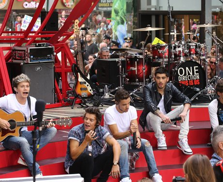 One Direction On 'The Today Show'