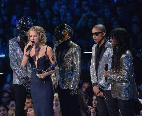 Taylor Swift, Daft Punk MTV VMAs 2013