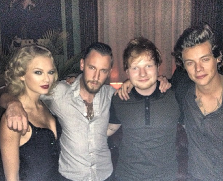 Taylor Swift, Ed Sheeran and Harry Styles VMA's