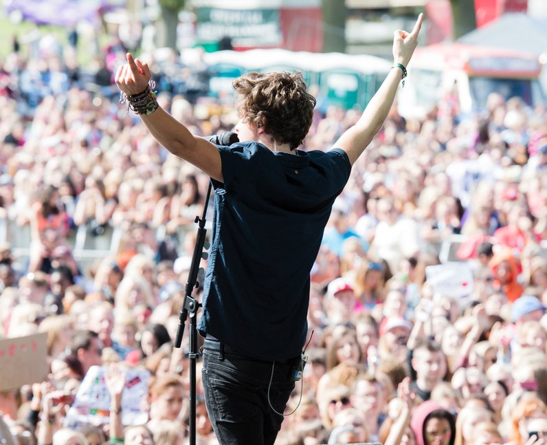 The Vamps live at Fusion Festival 2013