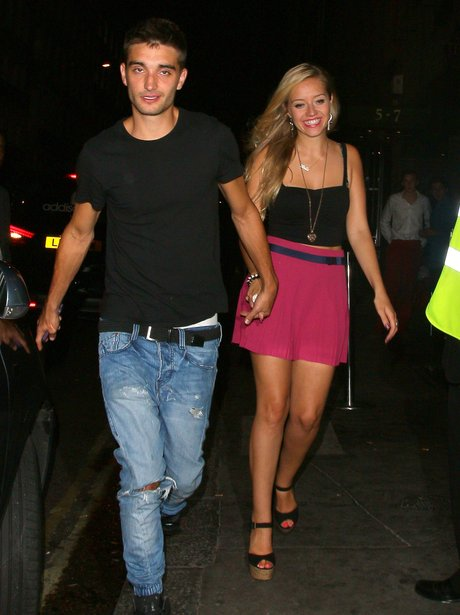 Tom Parker and Girlfriend Kelsey