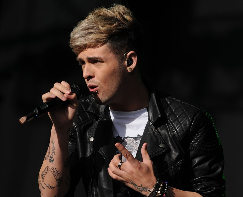 Union J star Jaymi Hensley live at Fusion Festival 2013 in Birmingham