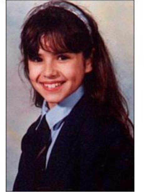Cheryl Cole school picture