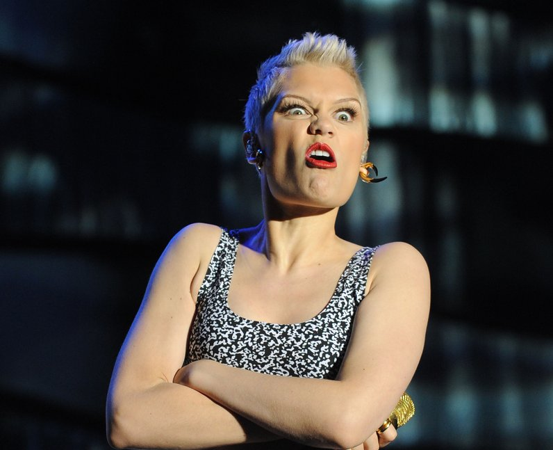Fans sing back to Jessie J durung her performance at Fusion Festival 2013