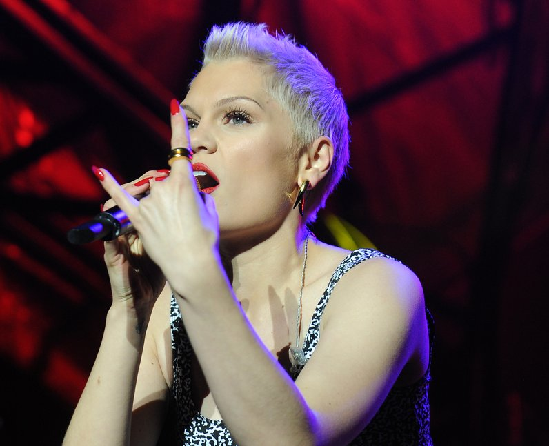 Jessie J takes to the stage live at Fusion Festival 2013 in Birmingham
