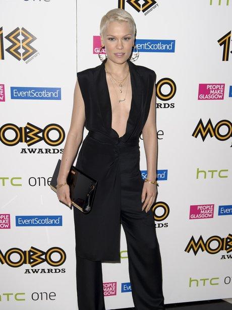 Jessie J MOBO Awards 2013