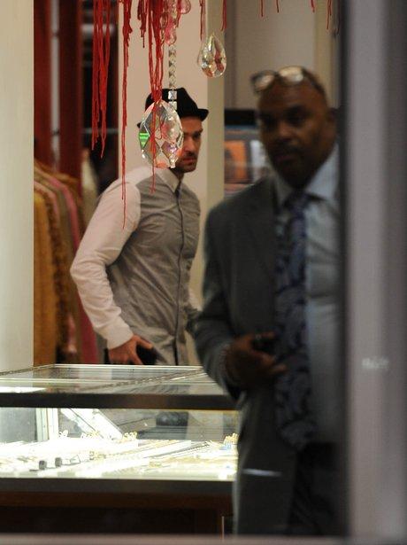 Justin Timberlake Jewelry shopping