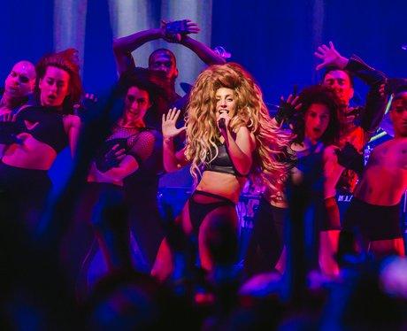 Lady Gaga performing at iTunes Festival 2013