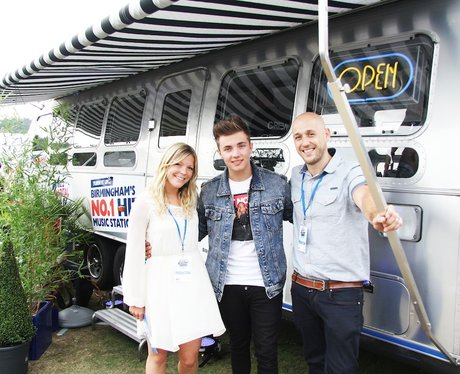 Ollie Marland Backstage