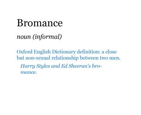 Pop Dictionary: Bromance