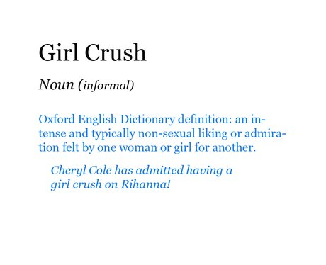Pop Dictionary: Girl Crush