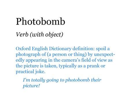 Pop Dictionary: Photobomb