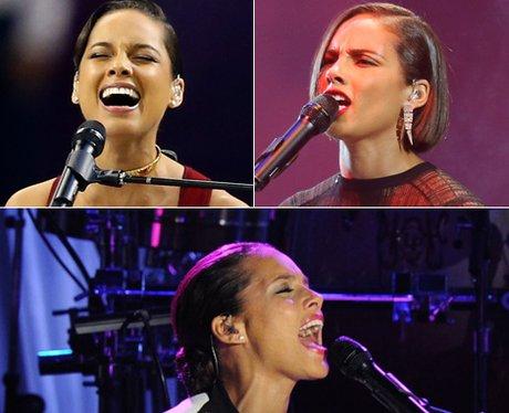 Pop Star Expressions: Alicia Keys
