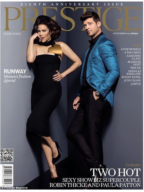 Robin Thicke Prestige Magazine