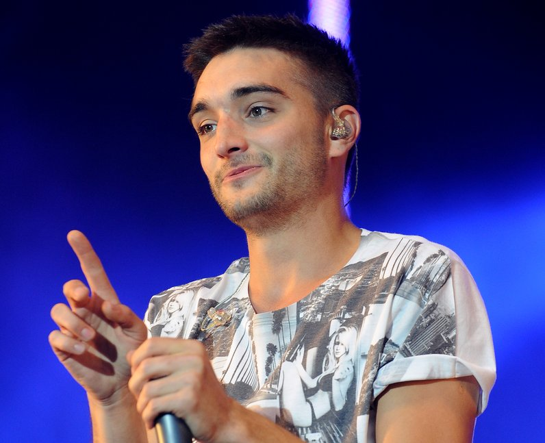 The Wanted's Tom Parker live on stage at Fusion Festival 2013