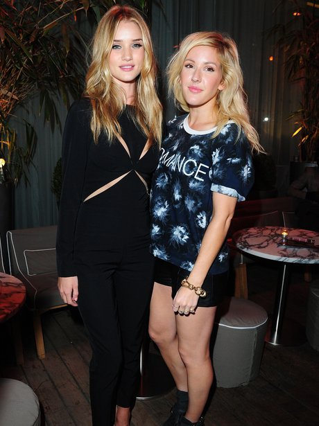 Rosie Huntington-Whiteley and Ellie Goulding